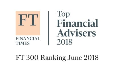 CFM Makes FT Top 300 RIA List For 2018